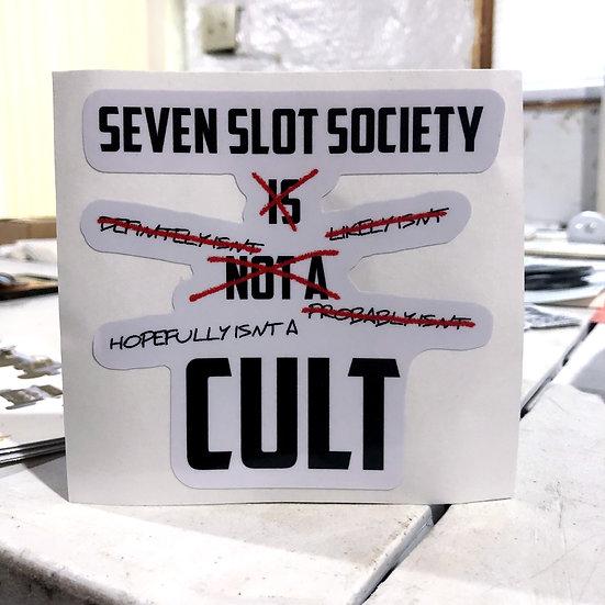 IT'S NOT A CULT!