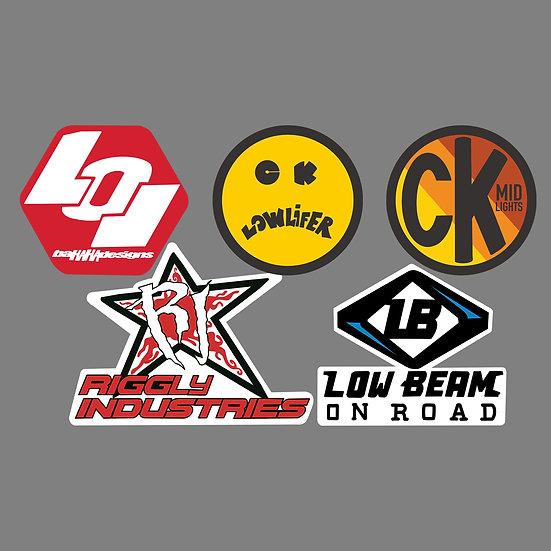 Logo Spoof Pack - Light Companies