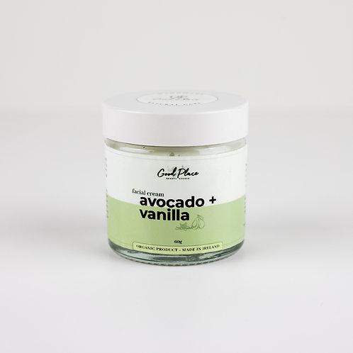 Good Place Skincare Avocado + Vanilla Facial Cream 60g