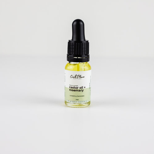 Good Place Skincare Castor Oil + Rosemary Brow Serum 10ml