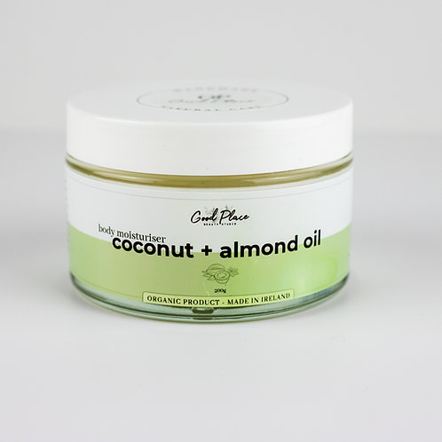 Good Place Skincare Coconut + Almond Oil Body Moisturiser 200g
