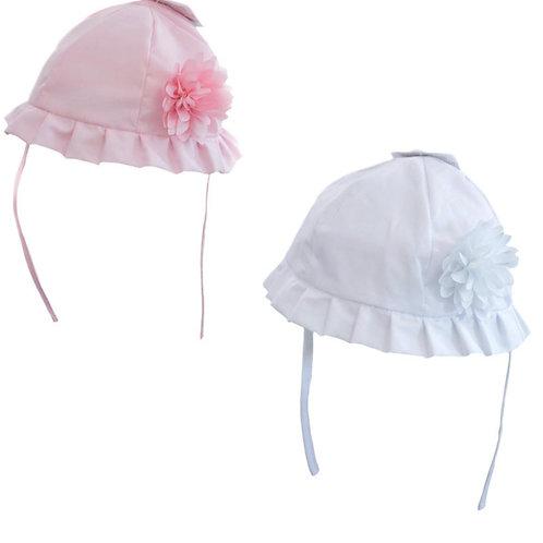 Summer Hat with Flower