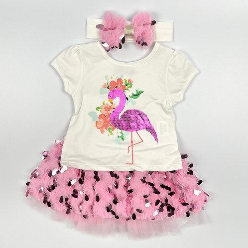 Visara Flamingo Set