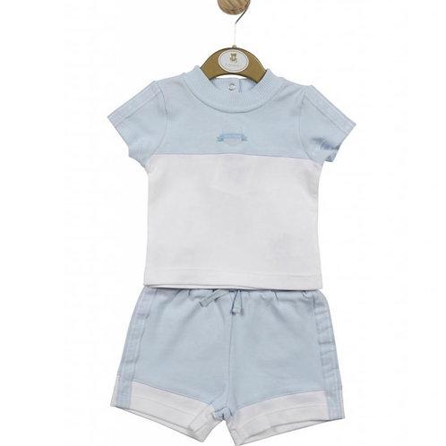 Mintini Boys Tshirt Short Set