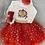 Thumbnail: Visara Red Cream 4 Piece Set