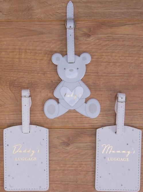 Mummy , Daddy & Baby luggage tags