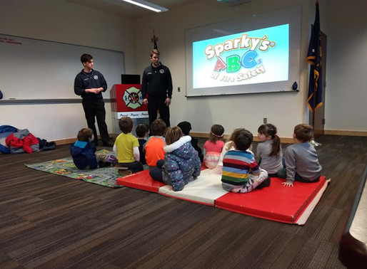 Field trip to Hood River Fire Department