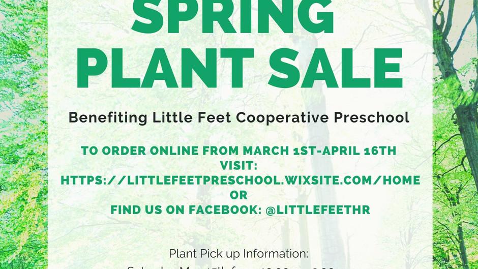 Spring Plant Sale!