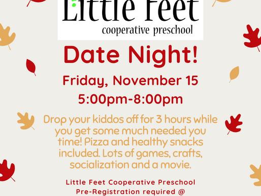 Date Night- Friday, November 15