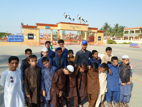 "Mawaa Homes Orphans Visited ""Pakistan Air Force Museum"""