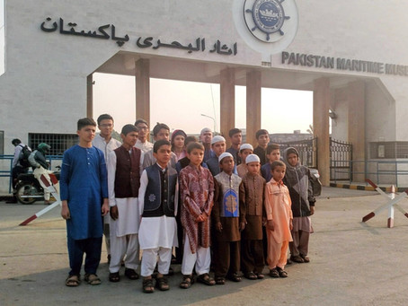 "Mawaa Homes Orphans Visited ""Pakistan Maritime Museum"""