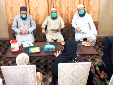 Apr - 2021: New Admissions Conducted - Inducted 9 New Orphans