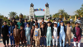 "Mawaa Homes Orphans Visited ""Danzoo - Day & Night Zoo"" Bahria Town Karachi."