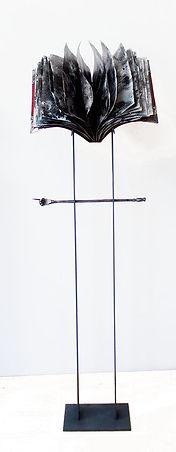 Der Magier Stahl 137 x 45 x 40cm