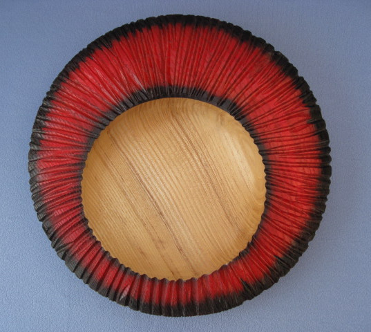 David Ako Atkinson - Red Rimmed Bowl
