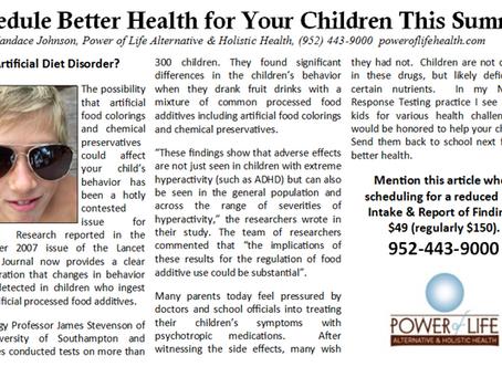 Your Children's Best Health