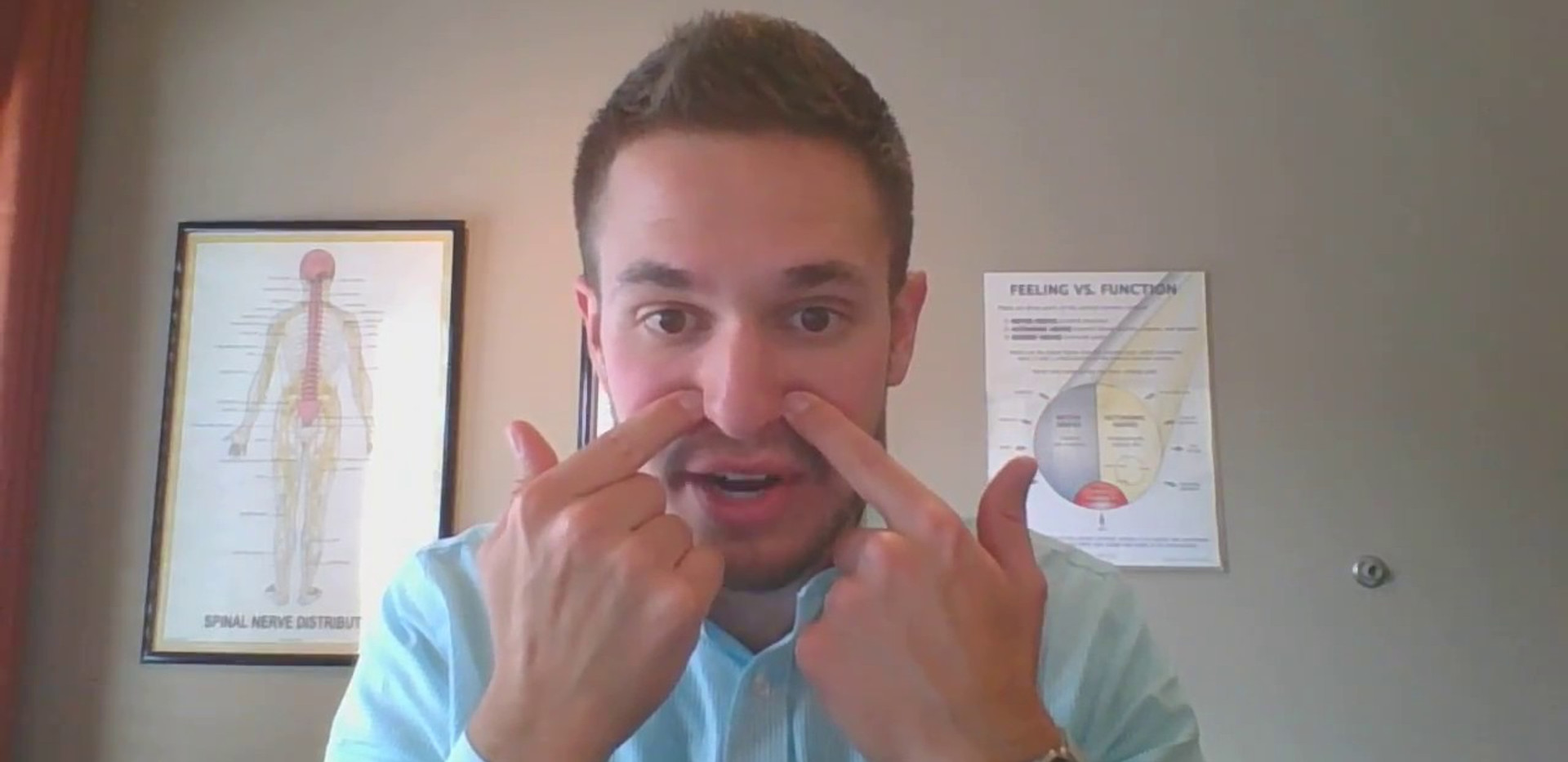 Video- Dr. Nate and sinus pressure