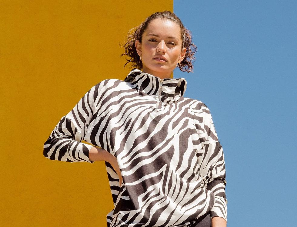 Sudadera Zebra