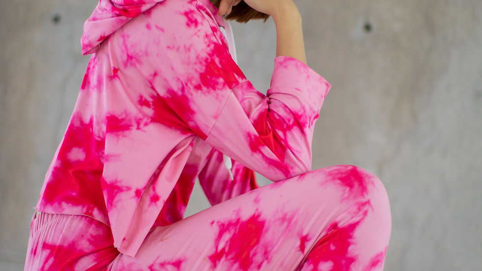 PREVENTA Hot Pink Tie dye Outfit