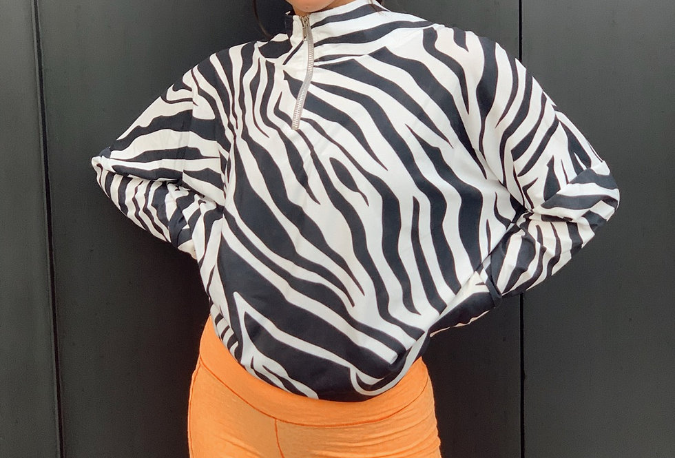 Conjunto Peach Zebra