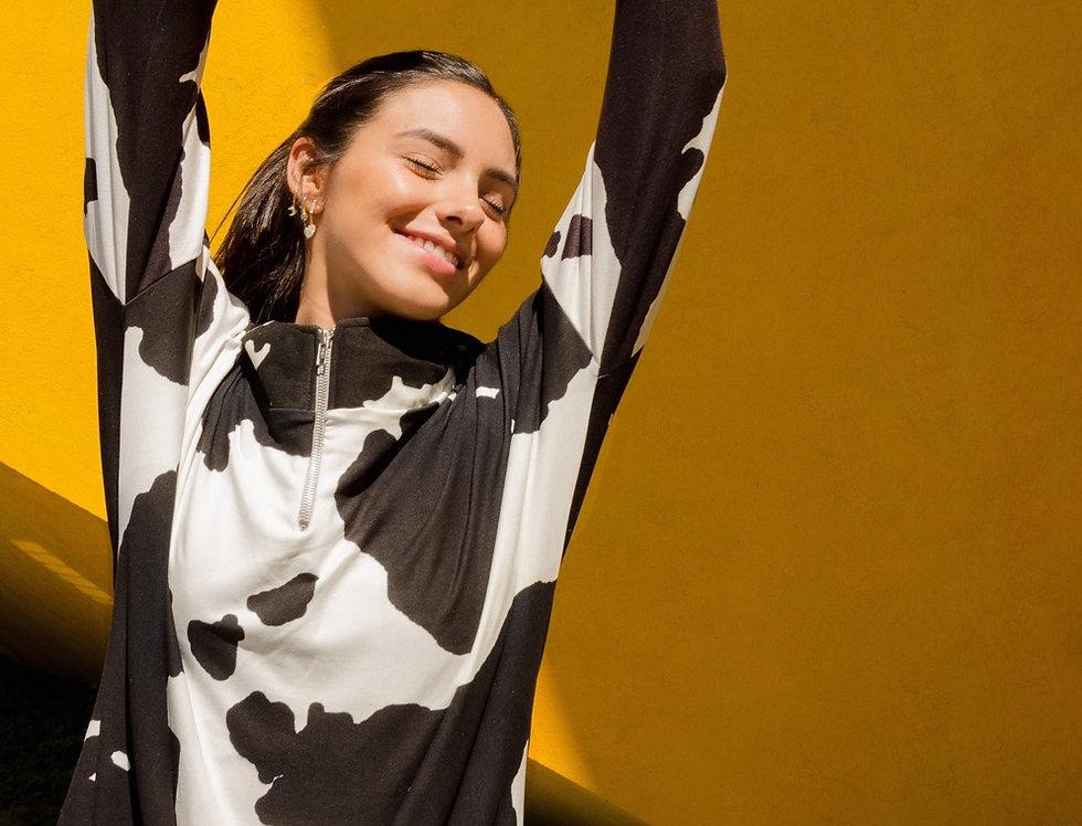 Sudadera Cow