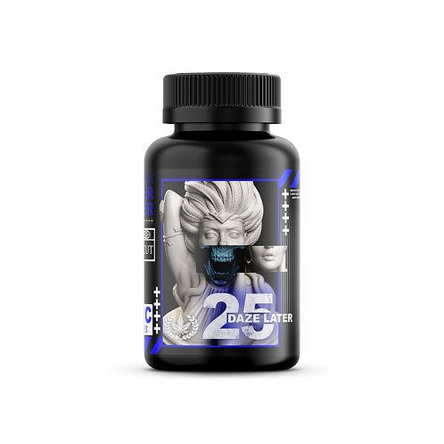 25 Daze Later : BLUE RAZZ (Delta 8 THC Edibles MSRP $35.99)