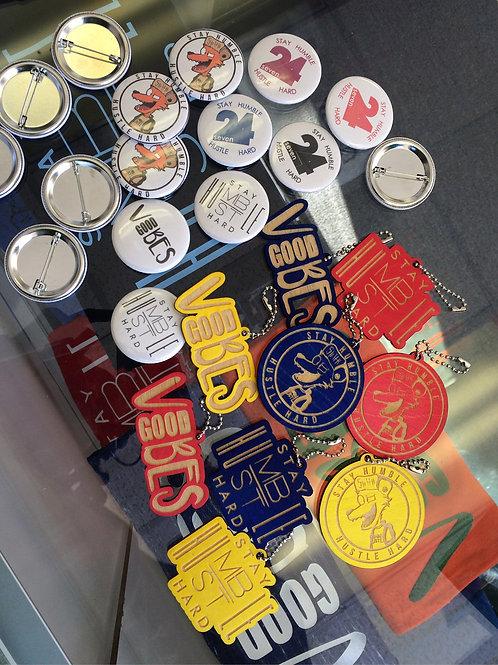 Brand Buttons