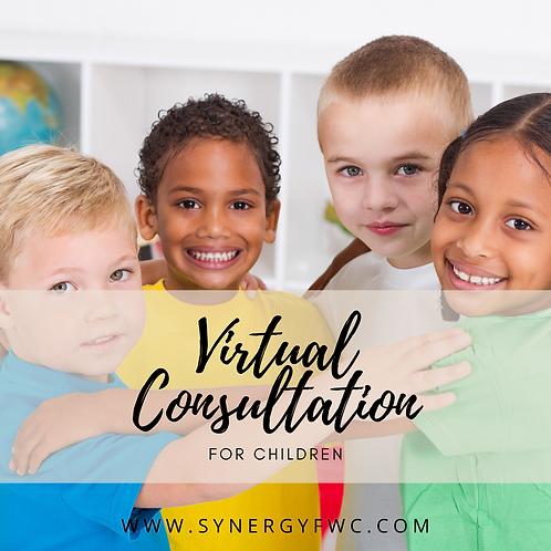 Virtual Consultation (Child 0-17)