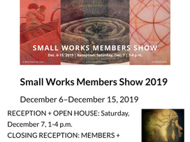 Woman Made Gallery Small Works Member Show 2019 - 12/6-15/2019