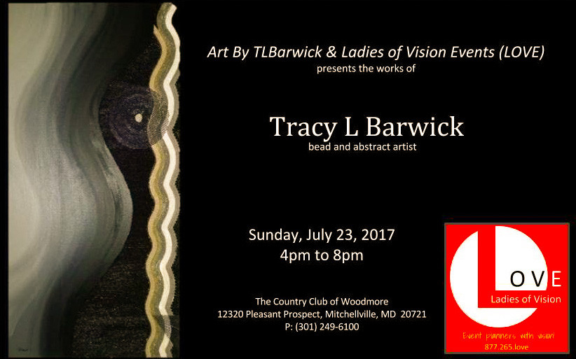When you have to take the bull by the horns.  If you're in the DMV area, please come out for an evening of conversation and visual stimulation.  TLBarwick