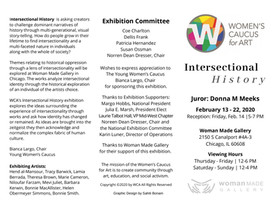 Women's Caucus for Art | Intersectional History | February 13-22, 2020