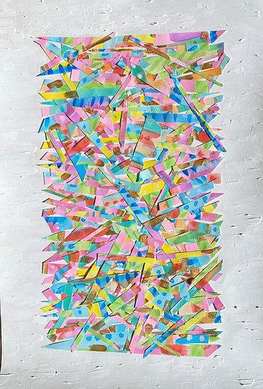 """""""Textured Haystack"""", 12x18"""""""