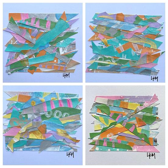 """""""Her Haystacks"""", 8x10"""", (*set of 4)"""