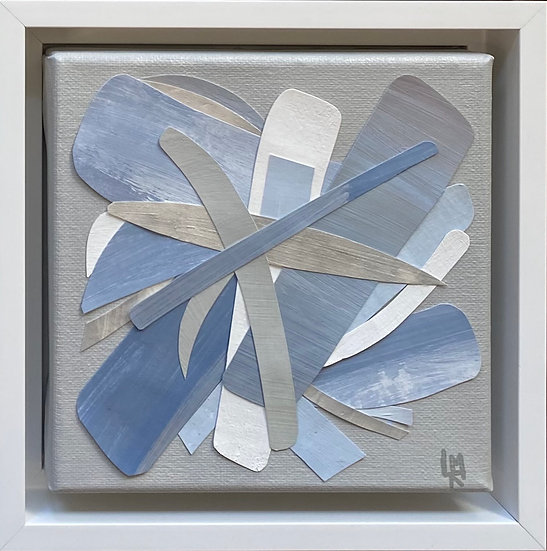"Mosaic Mini, 7x7"" (framed)"
