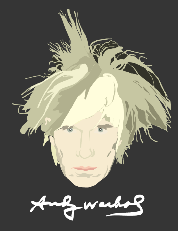 Warhol Digital Illustration