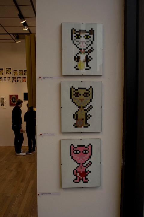 Pixel Maneki Neko