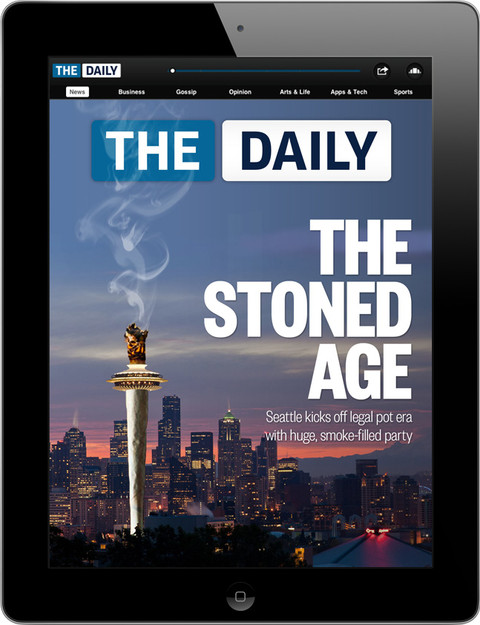 Front Cover for The Daily