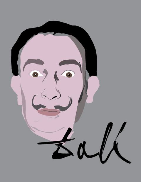 Dali Digital Illustration