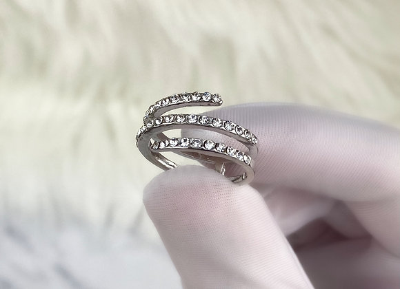 Silver Plated Wrap Ring