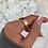 Thumbnail: Rose Gold Diamante Ring 6mm