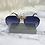 Thumbnail: Black Large Bug Aviator Sunglasses