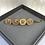 Thumbnail: Coin Lion Head Hair Slides