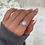 Thumbnail: Large Square Diamante Ring