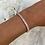 Thumbnail: Rose Gold Adjustable Crystal Bracelet