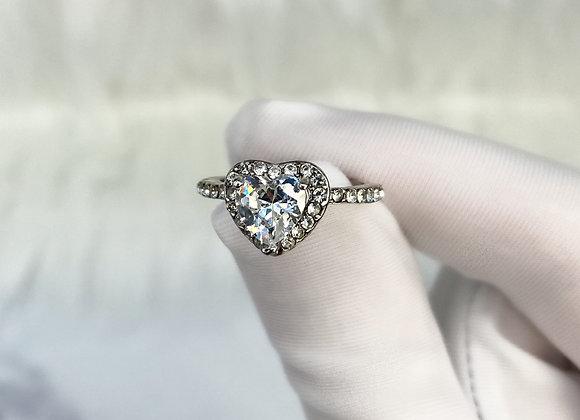 Heart Stone Ring