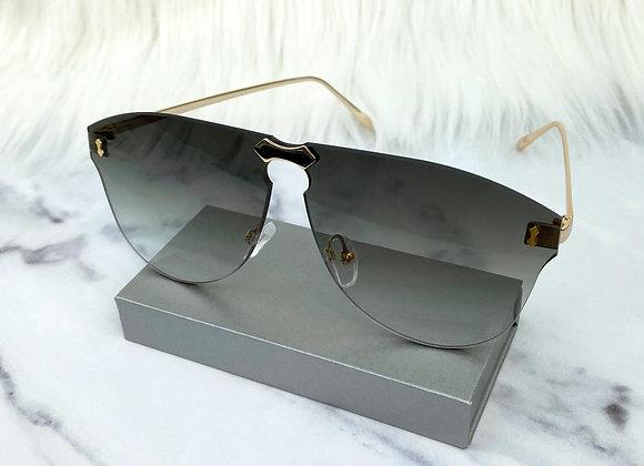 Carla Khaki Sunglasses