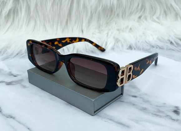 Half Tortoiseshell B Sunglasses