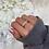 Thumbnail: Sterling Silver Mya Ice Ring
