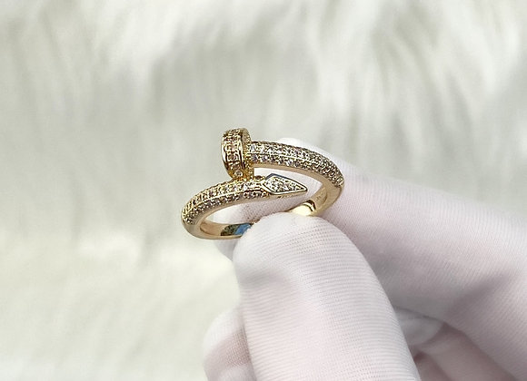 Gold Luxe Nail Ring
