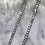 Thumbnail: Tennis Chain Silver Necklace 3mm